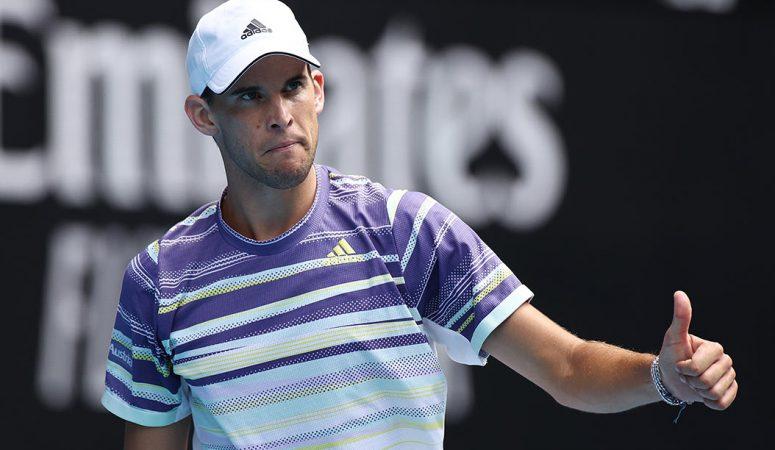 AUS Open. Доминику Тиму понадобилось 5 сетов, чтобы обыграть австралийца из 2-й сотни