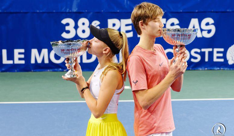 Les Petits As. Александр Пономарь — первый украинец, выигравший титул у юношей