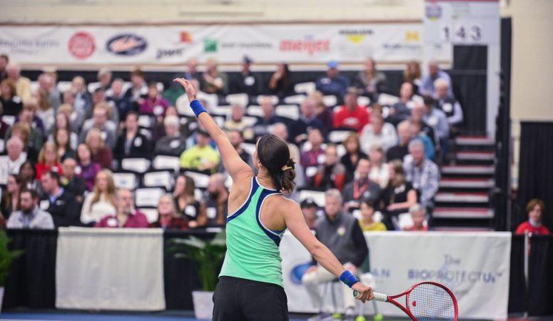 Калинина снялась с финала на турнире в Мидланде из-за травмы