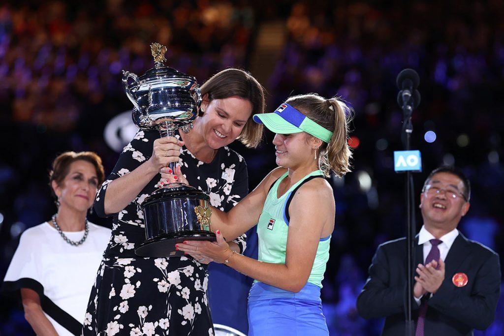 Софья Кенин - победительница AUS Open