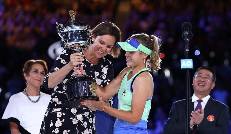 AUS Open. Софья Кенин выигрывает свой первый титул на турнире Большого Шлема