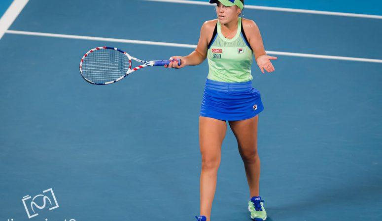 Нью-Йорк. Победительница AUS open проигрывает в своем первом же матче