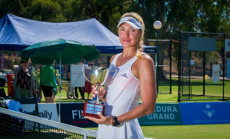 Марианна Закарлюк выигрывает свой второй титул ITF