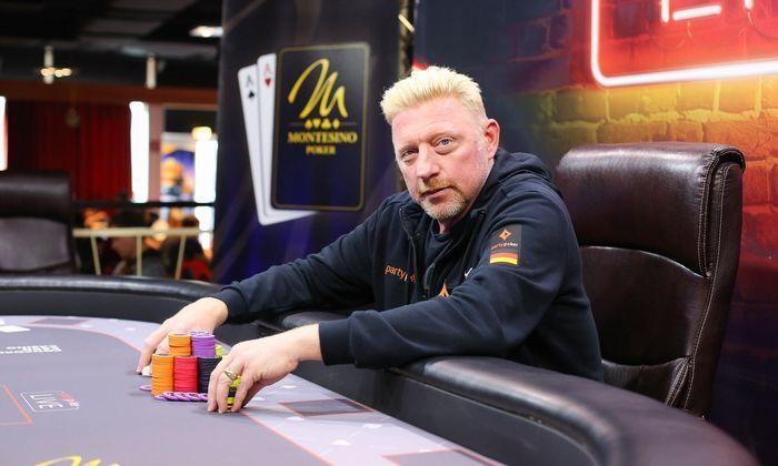 Борис Беккер - профессиональный игрок в покер