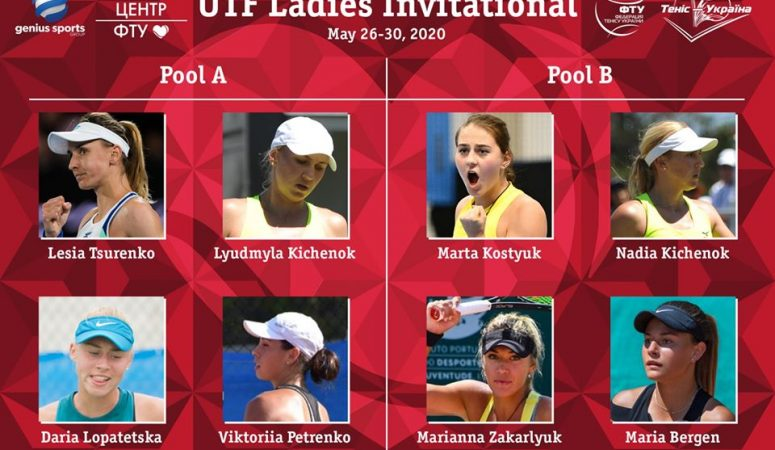 Завтра в Киеве стартует показательный турнир с участием украинских тенниситок