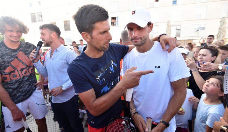 Джокович сдал тест на коронавирус в Белграде, вернувшись из Задара