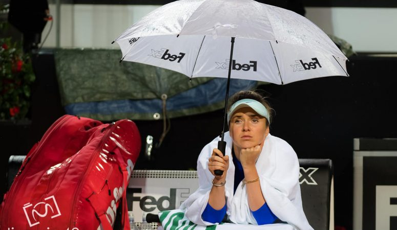 Bett1 Aces. Из-за дождя финал Свитолина — Квитова перенесли на другой день и другое покрытие