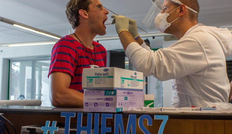 Участники турнира Thiem'7 в Китцбюэле прошли тесты на коронавирус