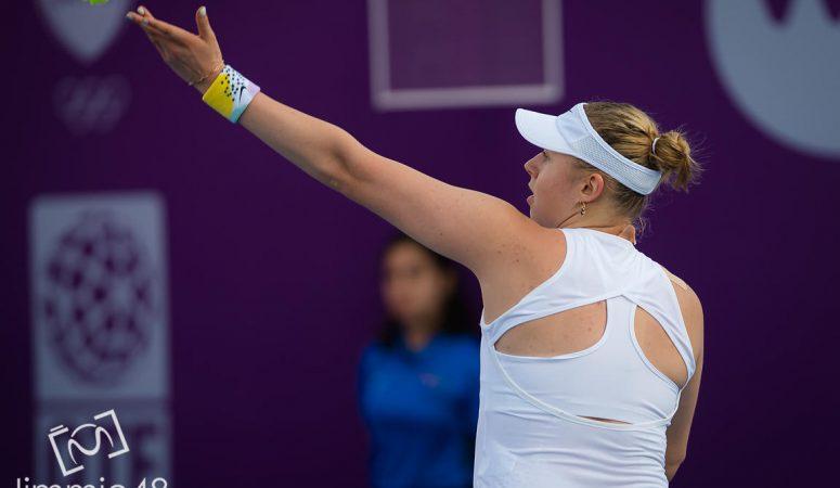 Лопатецкая покидает турнир в Праге