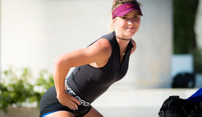Фото: Элина Свитолина провела тренировку в Риме