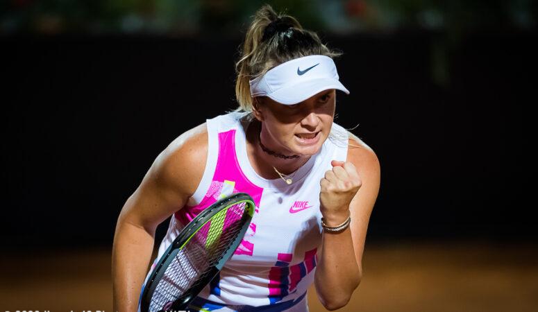 Страсбург. Элина Свитолина одерживает волевую победу и выходит в четвертьфинал