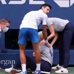 US Open. Новака Джоковича дисквалифицировали за то, что ударил судью мячом