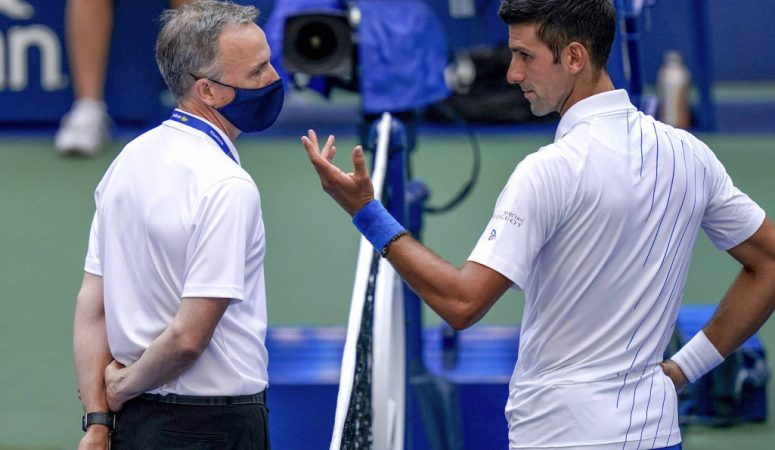 Рефери US Open: Другого варианта, кроме дисквалификации Джоковича не было