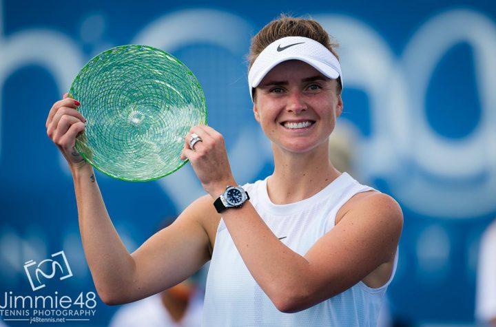 Элина Свитолина выигрывает свой 16 титул WTA