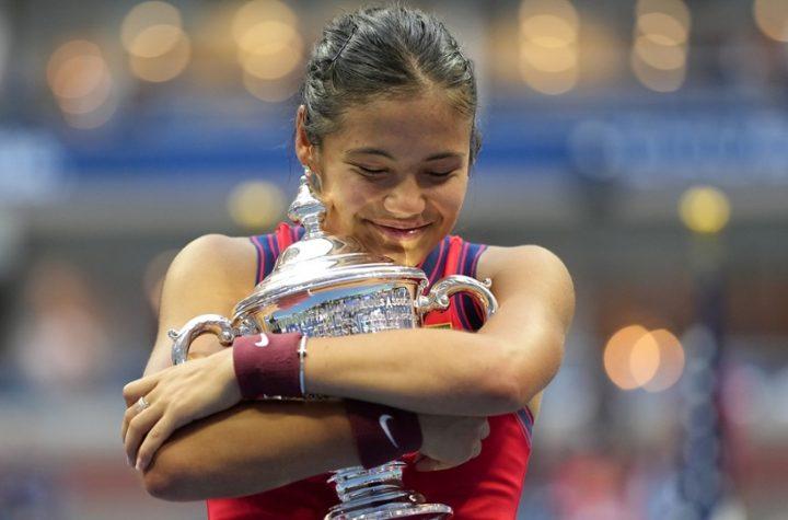 Эмма Радукану выигрывает US Open